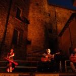 Flamenco nel borgo medievale